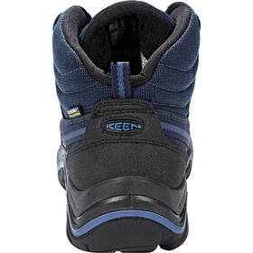 Keen Wanderer Mid WP Zapatillas Hombre, dark sea/night